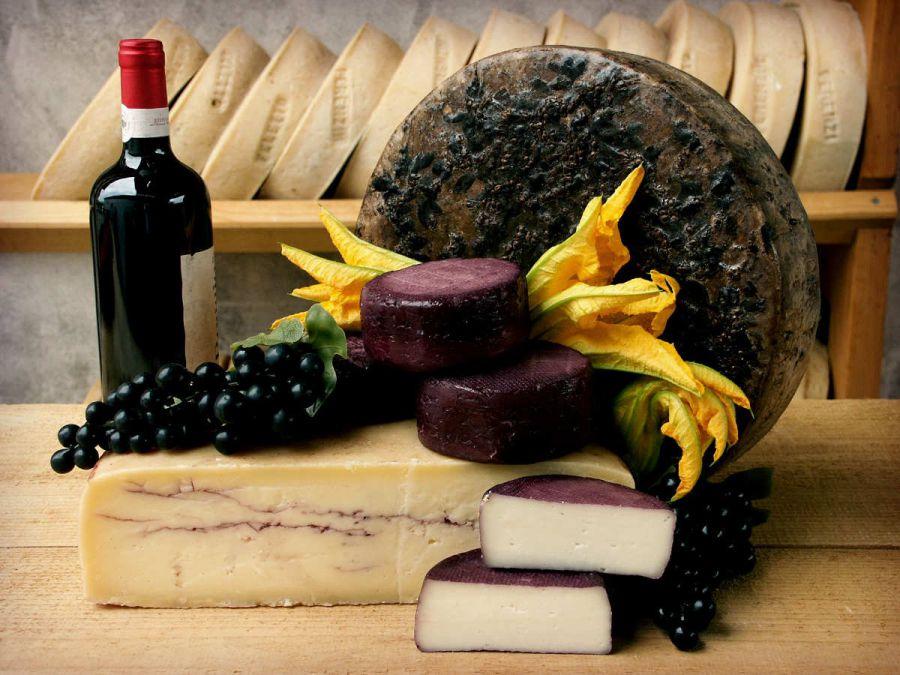 Quando il vino incontra il formaggio d'eccellenza
