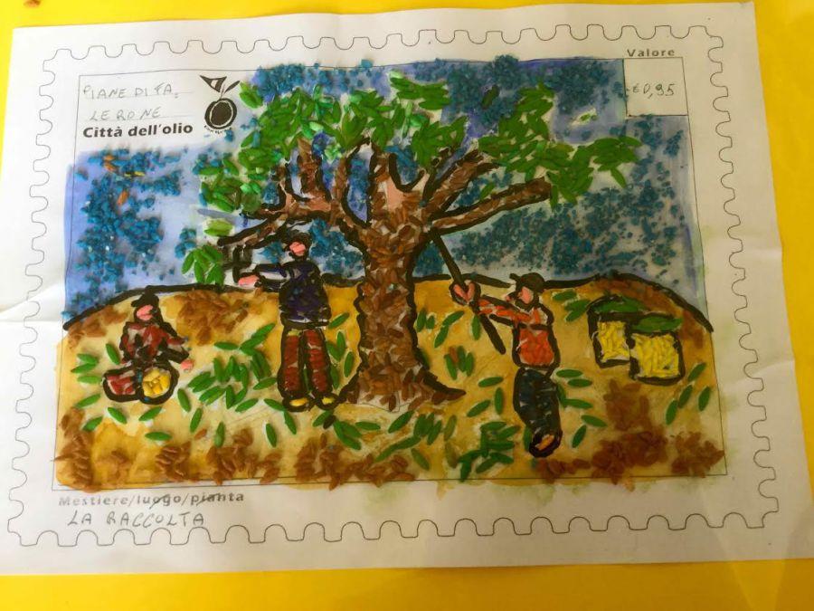I mestieri dell'olio disegnati dai bambini