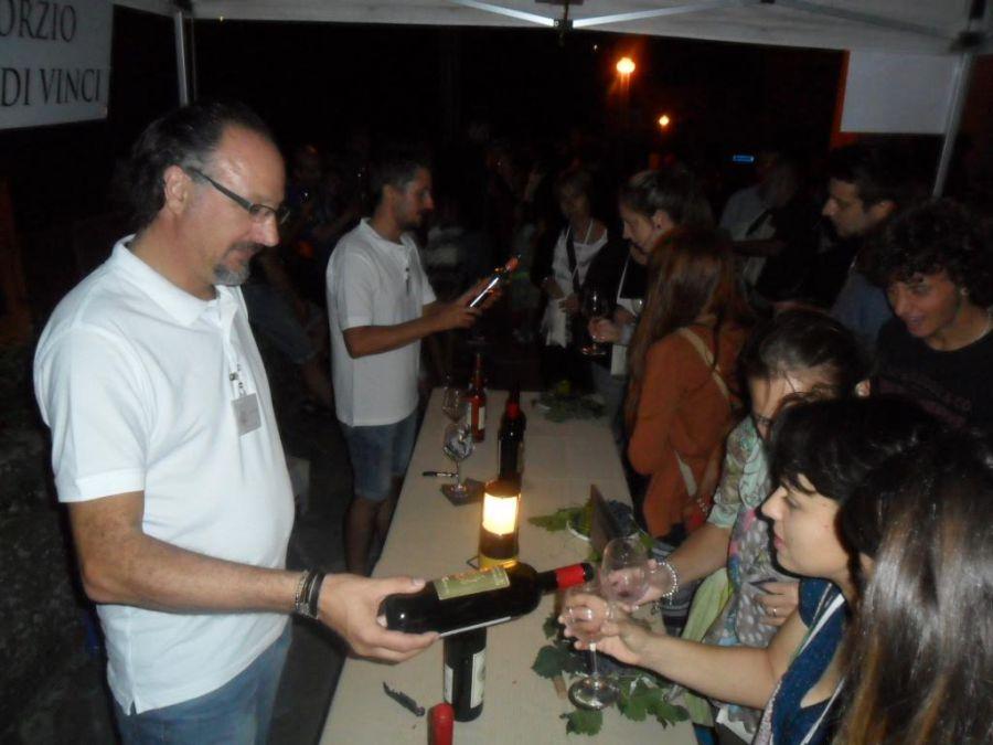 Calici di Stelle a Vinci: bella serata, degustazioni, stelle e tanti curiosi