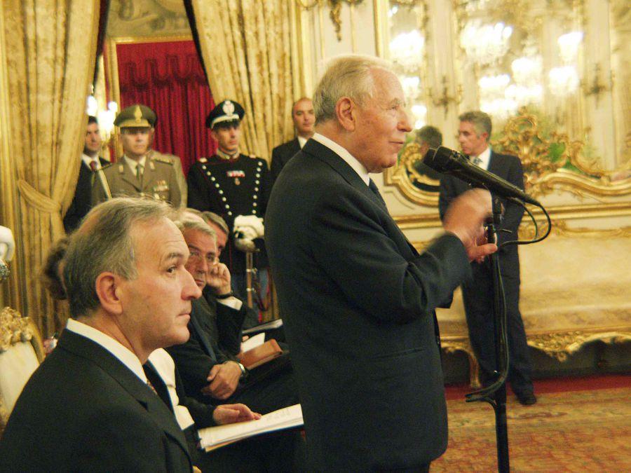 Le Città del Vino ricordano Carlo Azeglio Ciampi. L'incontro al Quirinale del 19 settembre 2002