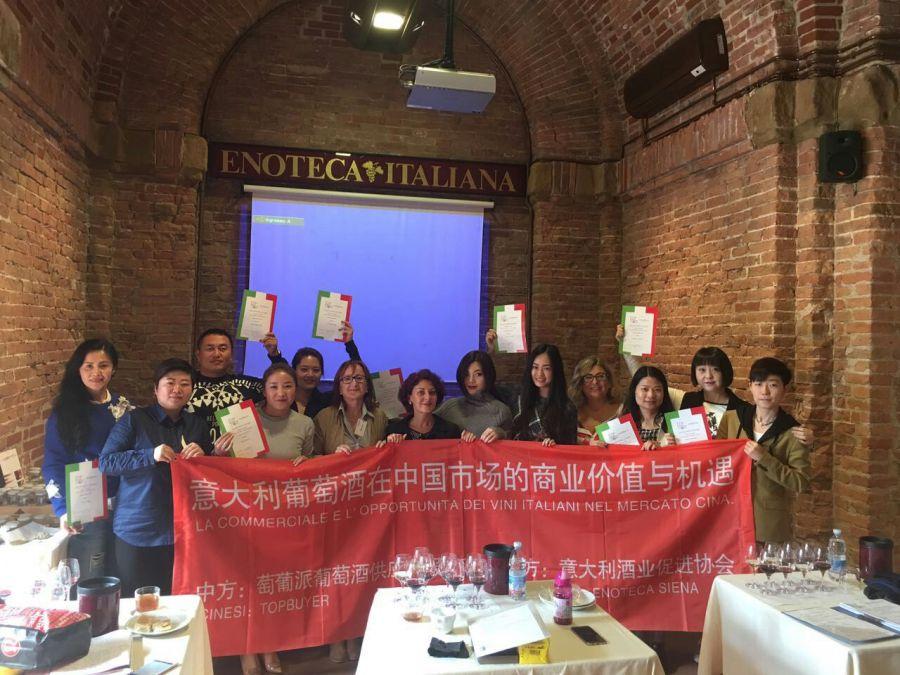 Italia-Cina, accordo tra Enoteca Italiana e Top Buyer