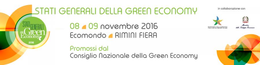Edizione 2016 degli Stati Generali della Green Economy
