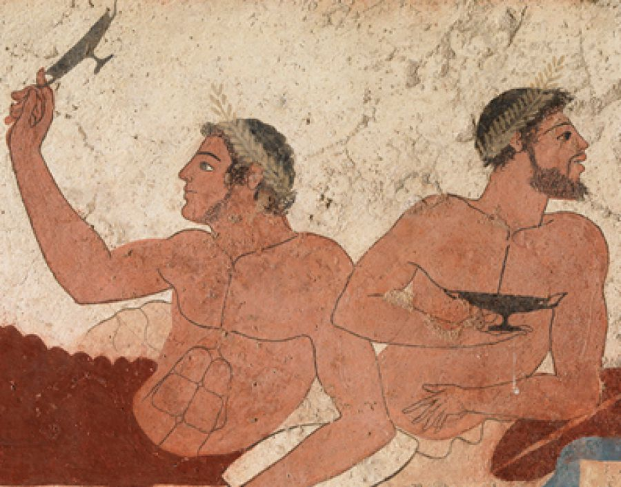 Il Vino del Tuffatore - Archeologia e dieta mediterranea