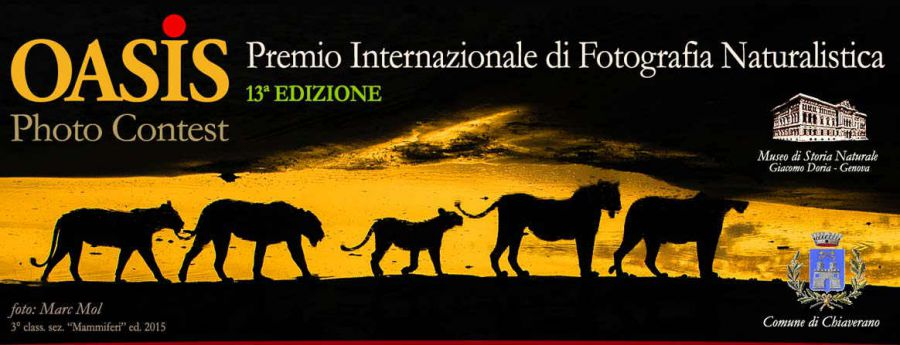 Premio Internazionale di Fotografia Naturalistica Oasis Photocontest