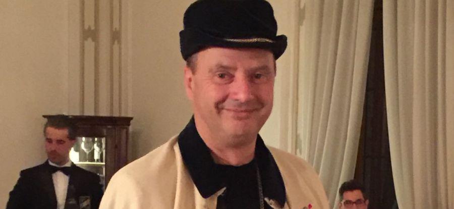 Loris Dall'Acqua, insignito del titolo di Gran Maestro della Confraternita di Valdobbiadene