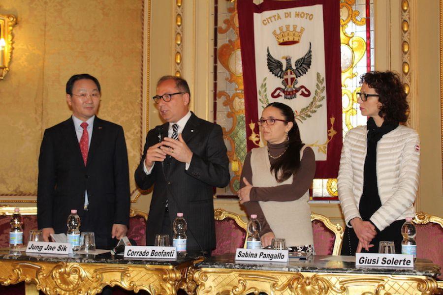 Noto incontra Yeongcheon: dalla Sicilia alla Corea del Sud