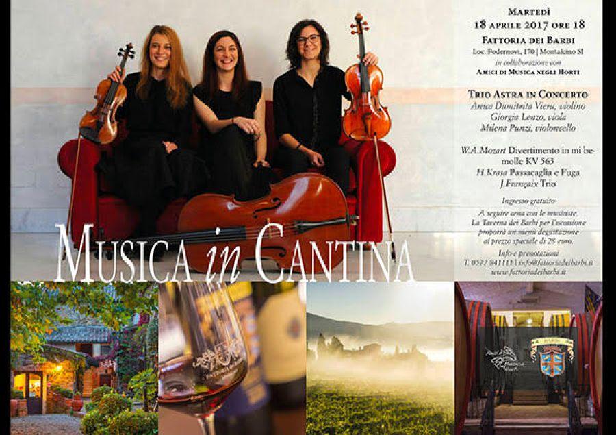 Musica in Cantina