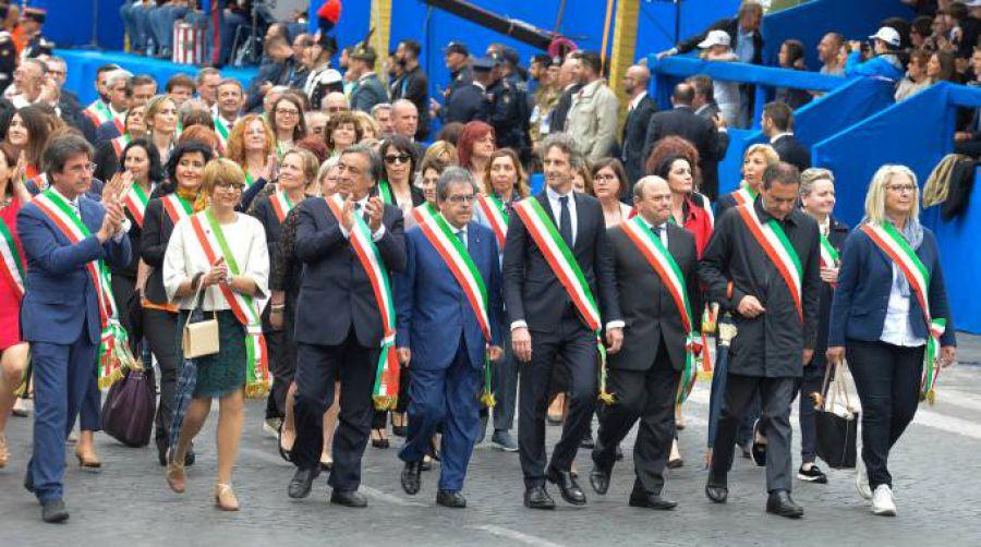 I Sindaci delle Città del Vino sfileranno alla testa del corteo che celebra la Festa della Repubblica