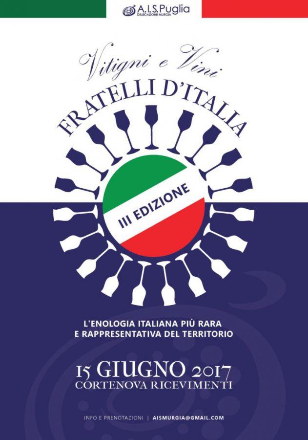 III VITIGNI E VINI FRATELLI D'ITALIA