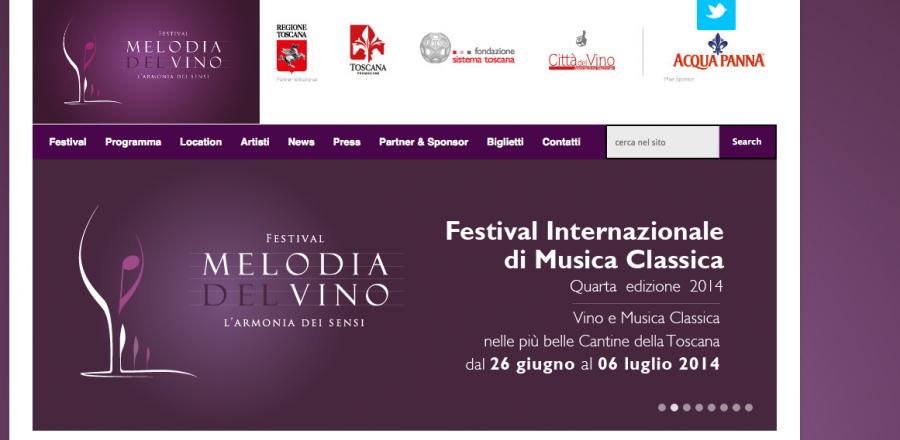 Melodia del Vino, festival delle cantine d'autore