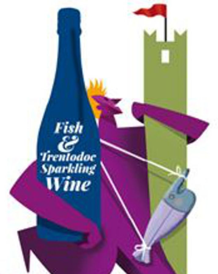 Fish and Trentodoc Sparkling Wine