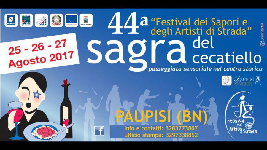 Paupisi, Festval dei Sapori dal 25 al 27 agosto