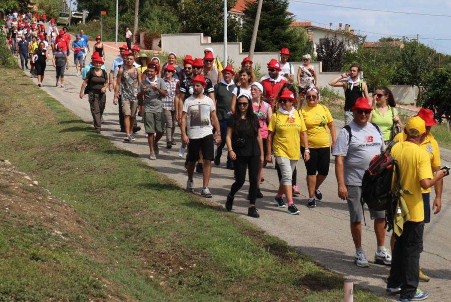 Il Cammino dei Vignandanti, terza edizione con partenza da Tollo