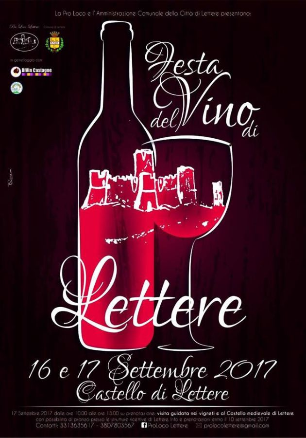 Il Vino di Lettere, festa al Castello