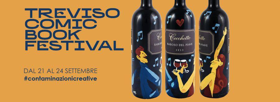 Vino e fumetti, Treviso in festival