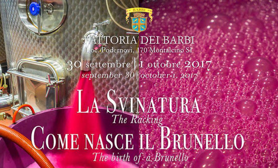 La svinatura: come nasce il Brunello