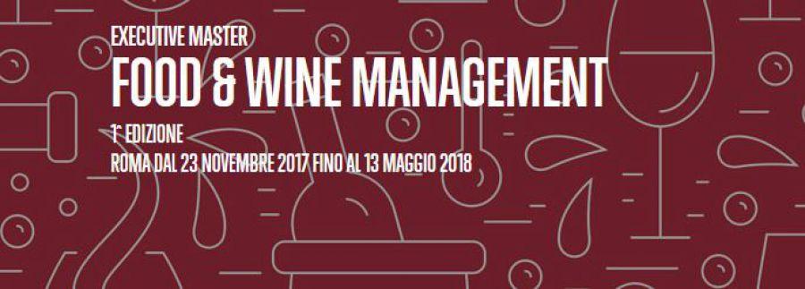 Master Food & Wine Management della Business School del Sole 24 Ore