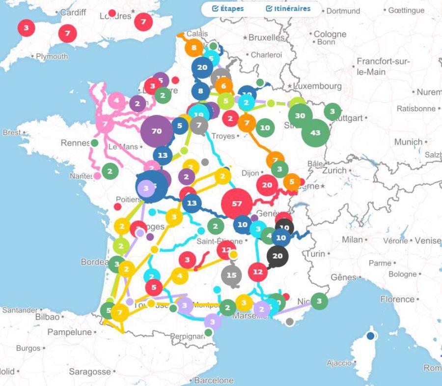 Journée Française des Itinéraires Culturels Européens