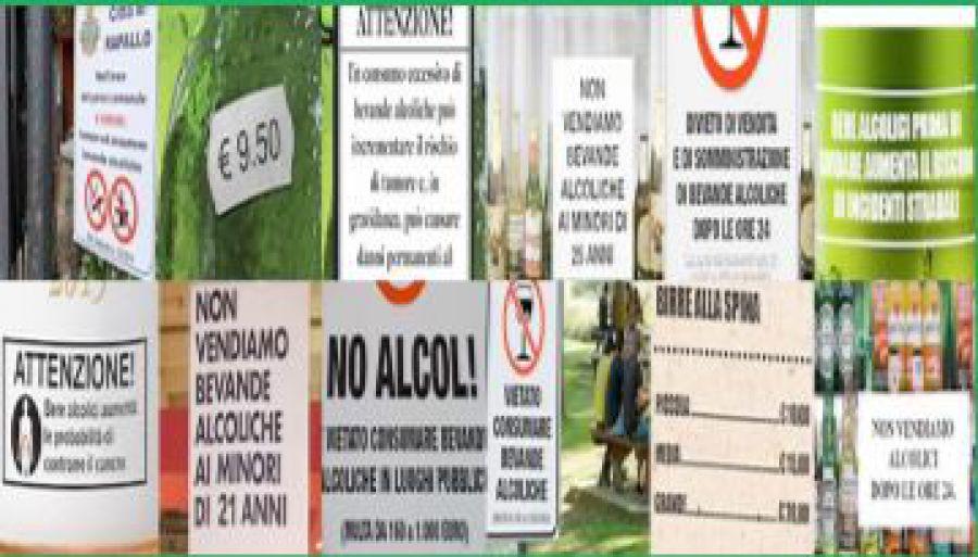 Giovani alcol e divieti