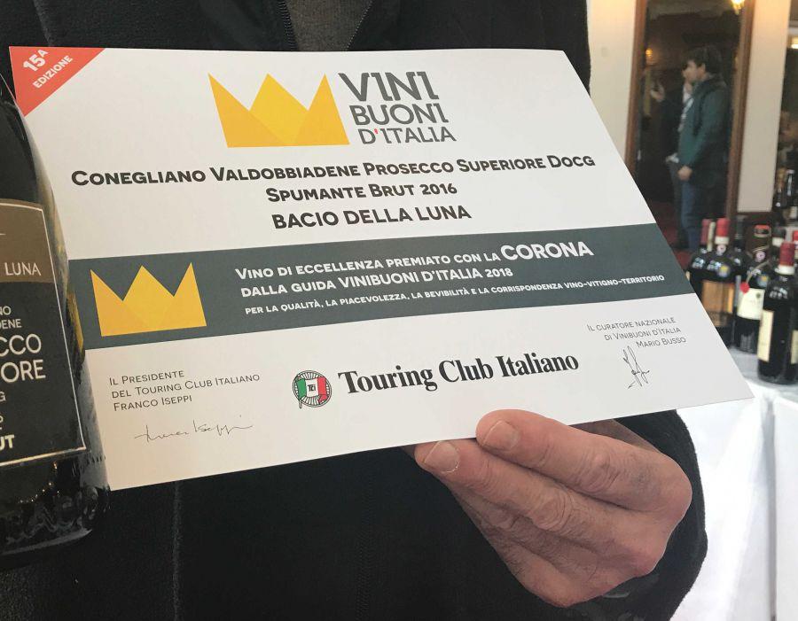 Vinibuoni d'Italia incorona il Prosecco Superiore DOCG