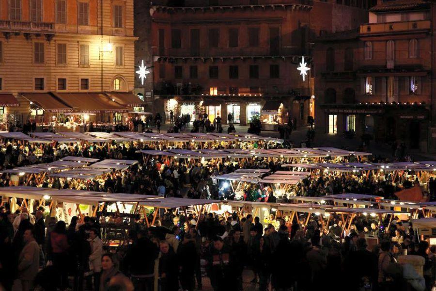 A Siena il Mercato nel Campo festeggia 10 anni