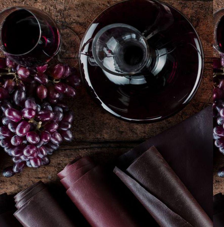 Il tessuto che nasce dal vino