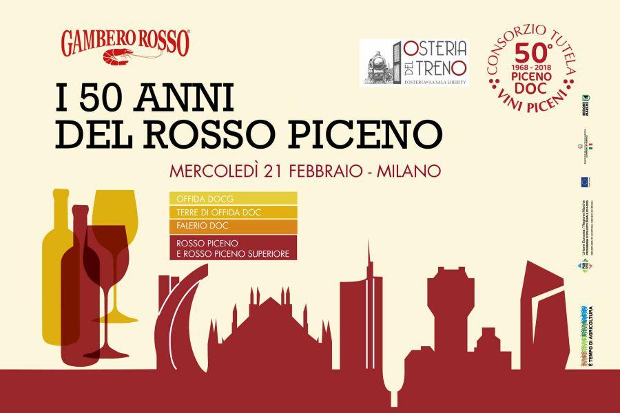Per i suoi 50 anni il Rosso Piceno incontra la cucina milanese