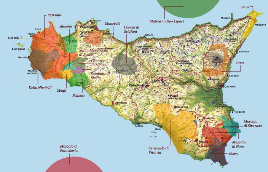 Citt del vino nuovi scenari per la doc sicilia nuovi scenari per la doc sicilia altavistaventures Gallery