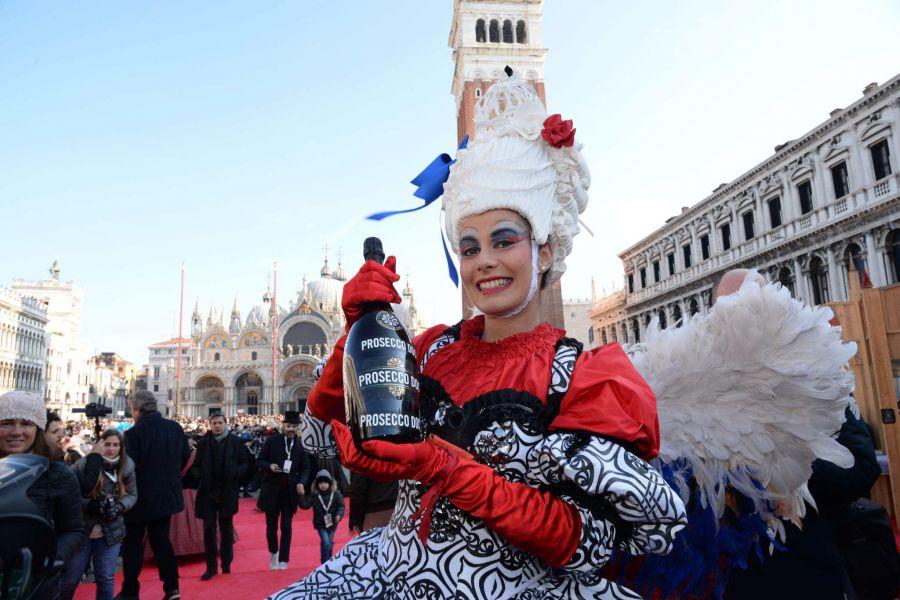 Prosecco Doc al Carnevale di Venezia