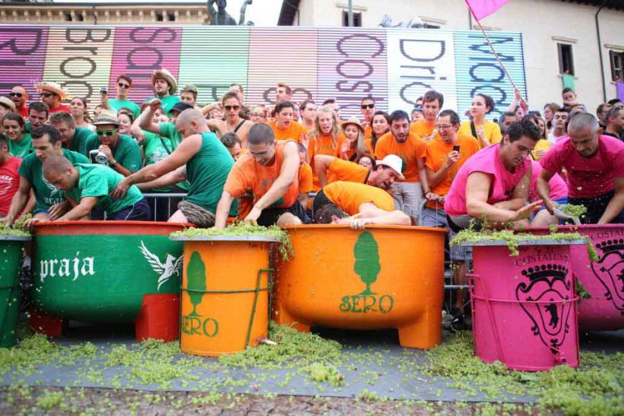 Monteforte d'Alpone, Festa dell'Uva e Palio delle Contrade