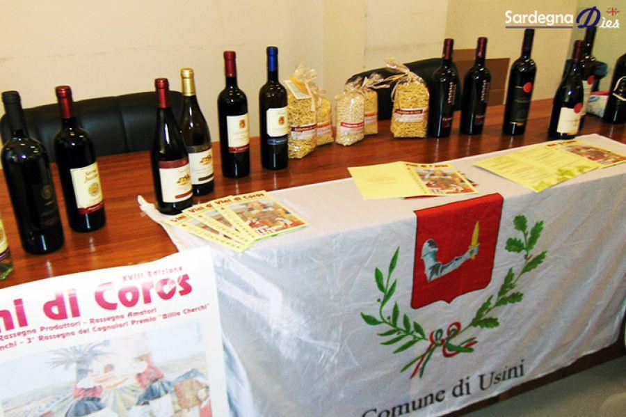 Vini di Coros, rassegna che premia anche i produttori amatori