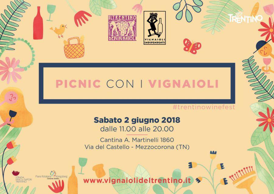 Picnic con i Vignaioli del Trentino