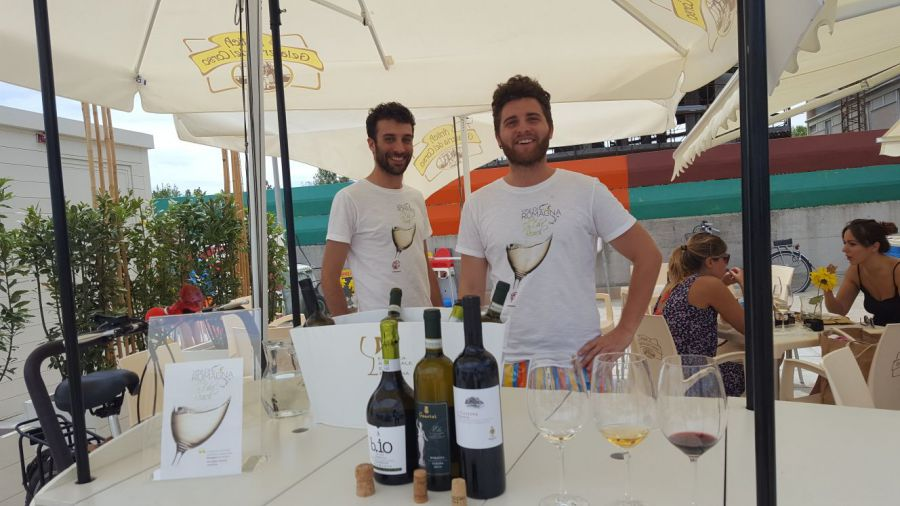 Vini di Romagna - DOP ON THE BEACH