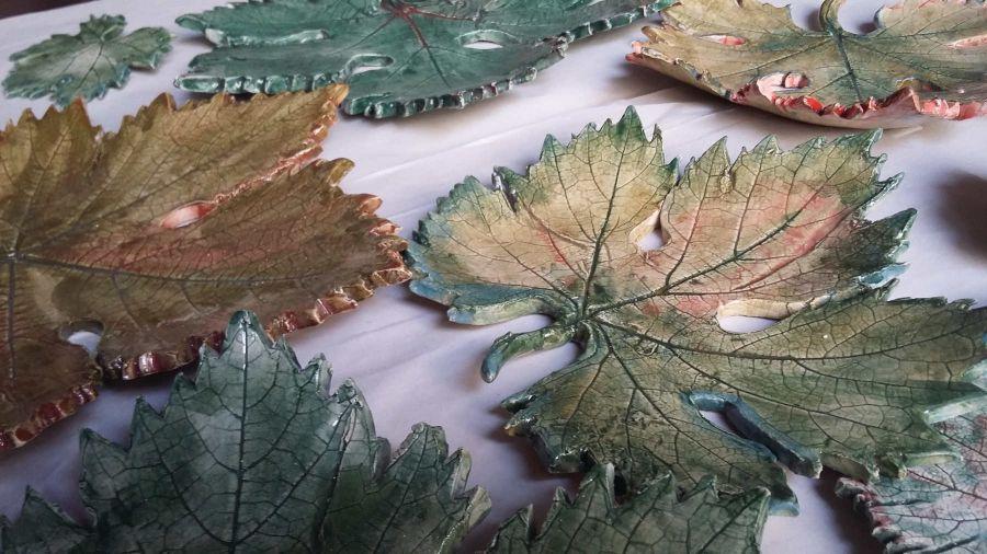 Fragile come una foglia di vite: la collezione artistica delle viti in Calabria