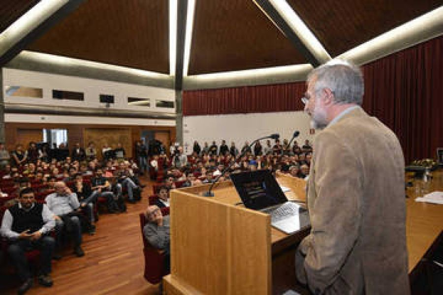 Lectio magistralis al campus di S. Michele all'Adige