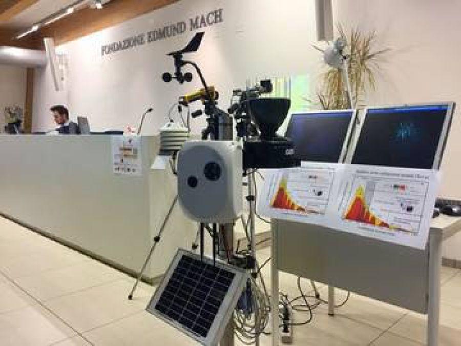 Nuovo prototipo di stazione meteo-fenologica