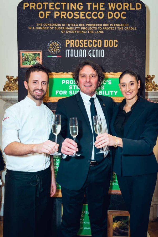 Prosecco Doc Dreamland at the Italian Embassy in London