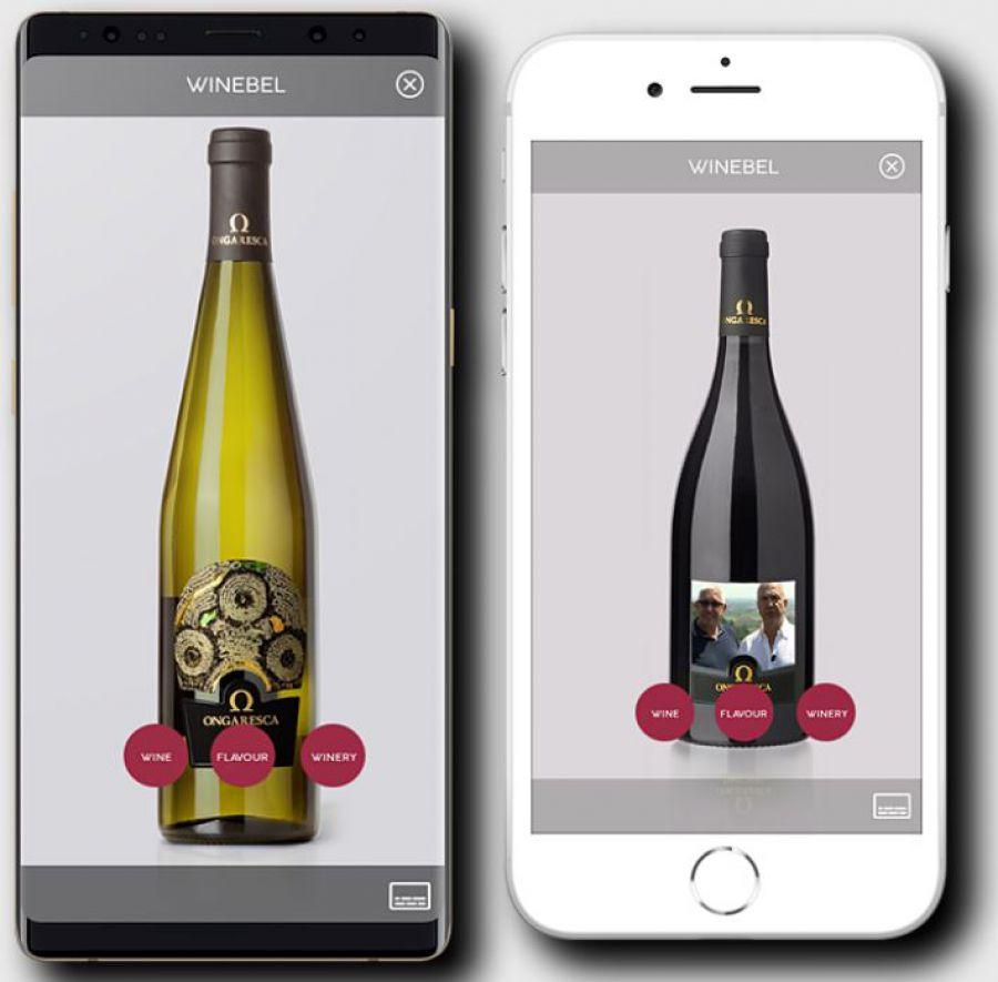Winebel: il debutto dell'etichetta interattiva di realtà aumentata