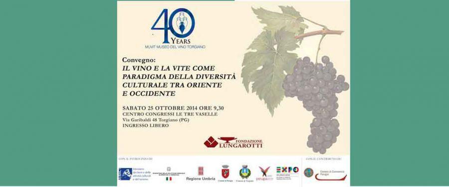 Fondazione Lungarotti: il Museo del Vino di Torgiano compie 40anni