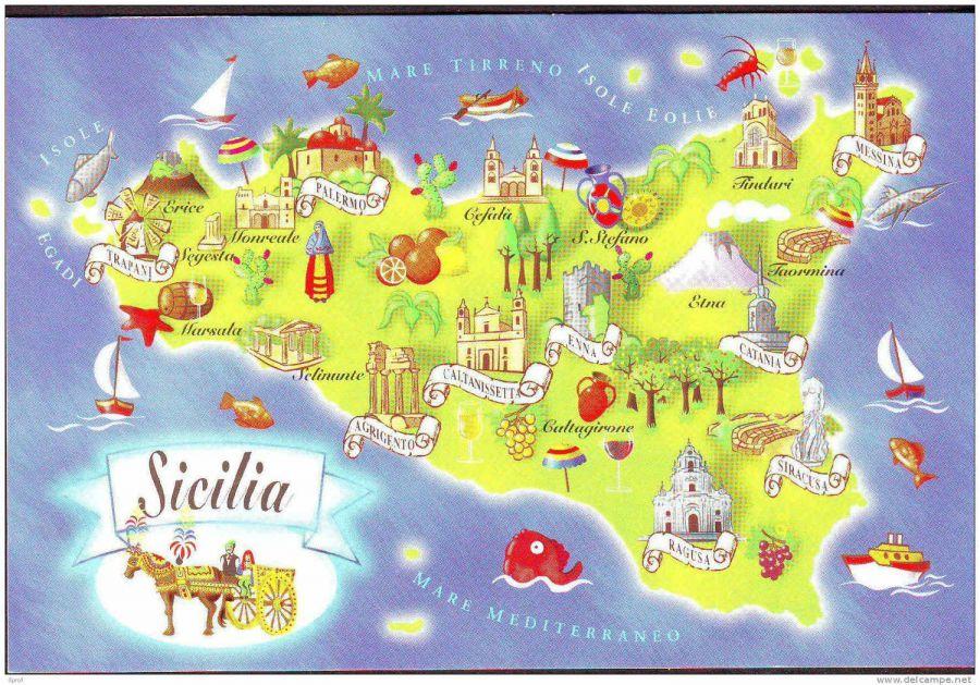 Sicilia da vivere. Terre, mare, uomini