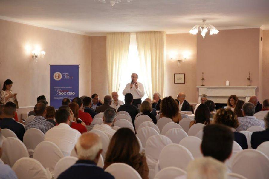 Valoritalia per  i 50 anni del Ciro' DOC