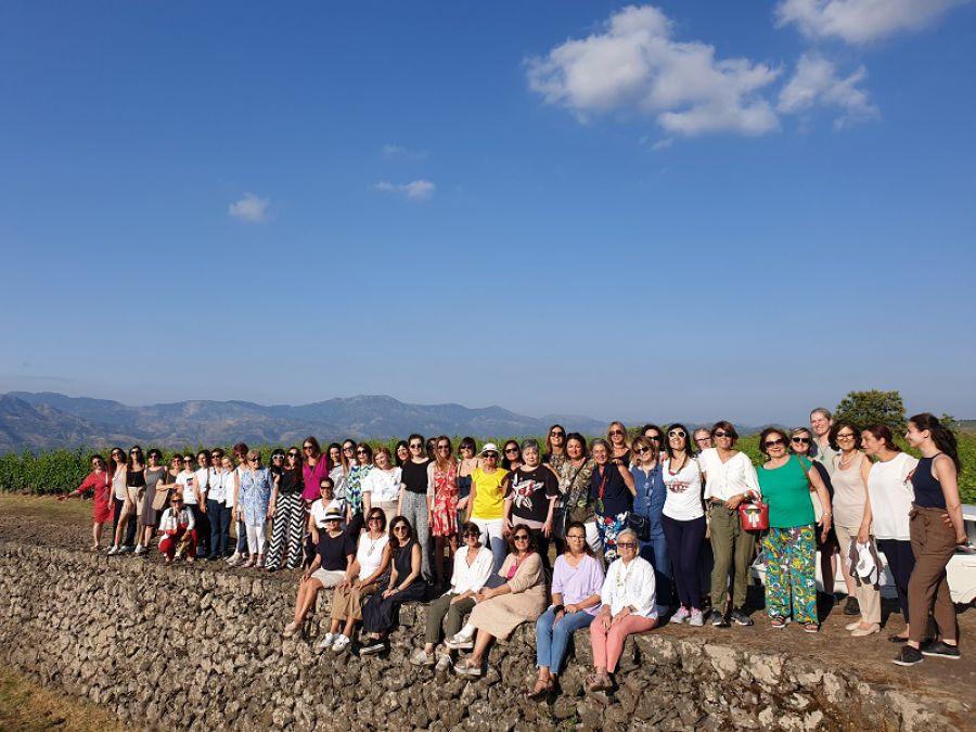 Prima consulta tra Donne del Vino e Regione