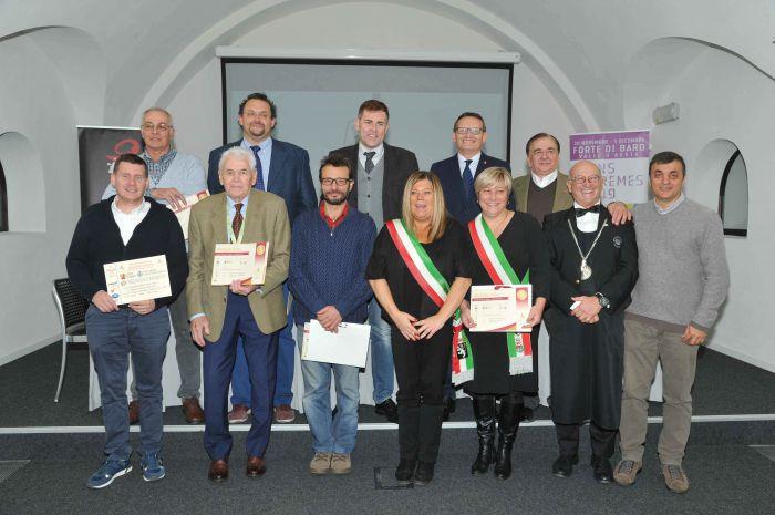 VINS EXTREMES: Premiazione dei vini valdostani del Concorso Enologico Internazionale Città del Vino