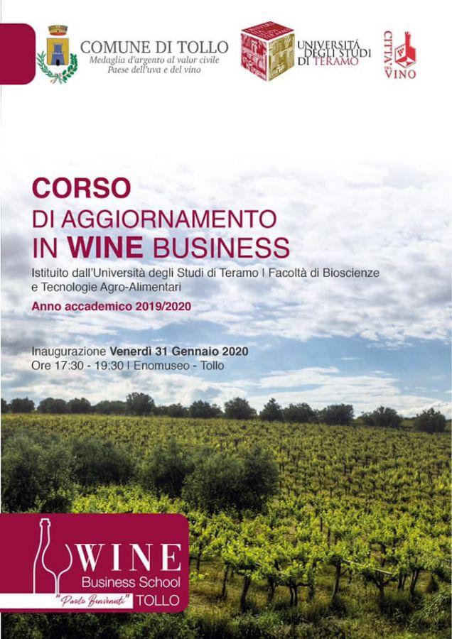 Proroga iscrizioni Wine Business School di Tollo