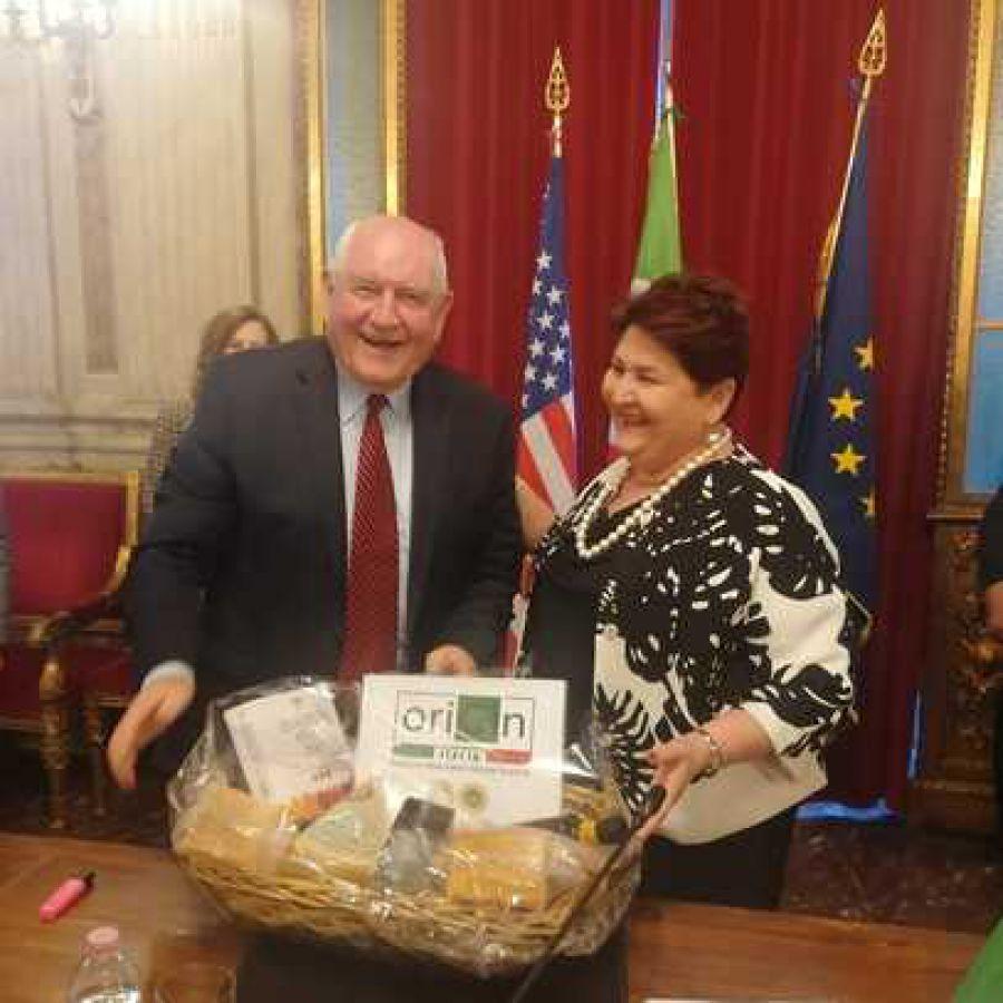 Visita italiana per il Segretario americano all'Agricoltura