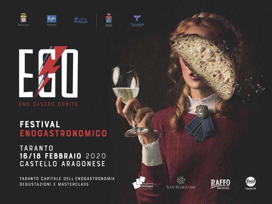 Taranto con Ego Festival diventa capitale italiana dell'enogastronomia