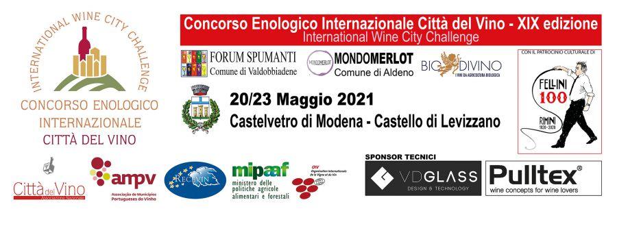 Rinviato al 20/23 maggio 2021 il Concorso Enologico Internazionale Città del Vino