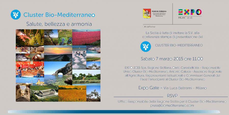 Anteprima all'EXPO GATE del Cluster Bio-Mediterraneo