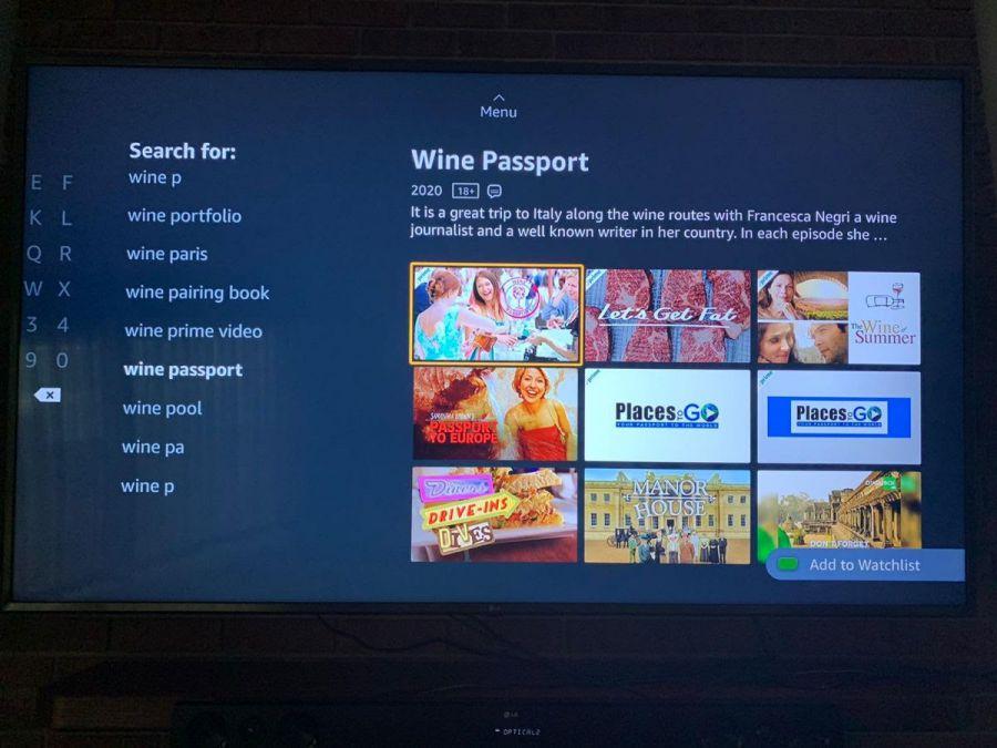 Wine Passport il nuovo format del vino in onda negli Stati Uniti e Uk