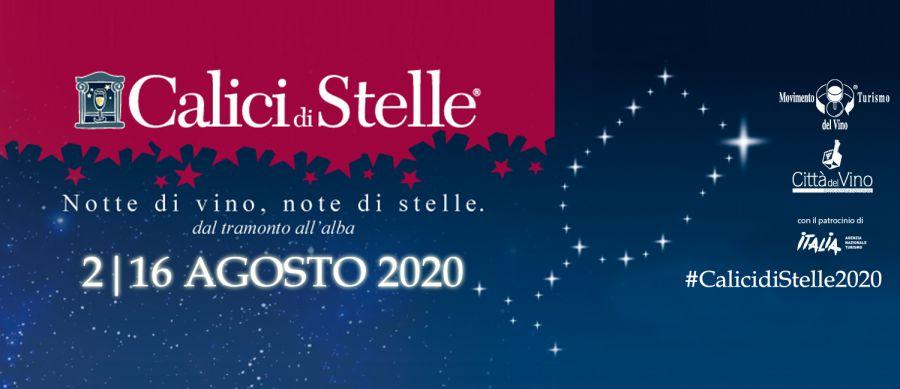Calici di Stelle 2020 nelle Città del Vino della Toscana